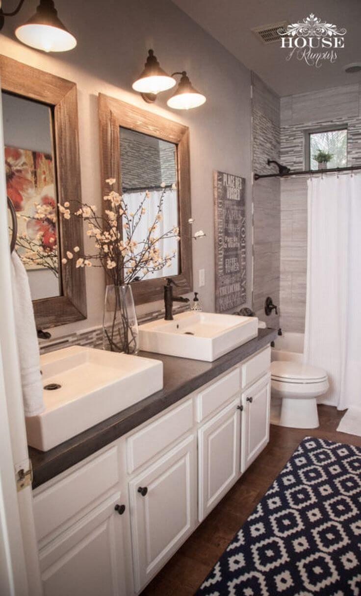 45 Master Bathroom Ideas 2019 (That Will Awe You) 39