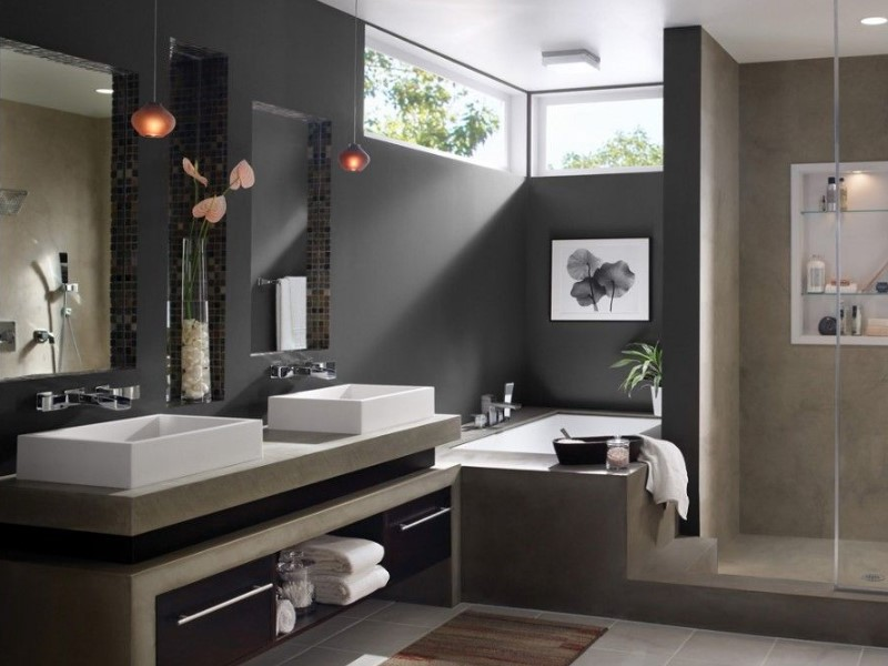 Grey Bathroom Ideas with Sophisticated Designs 10