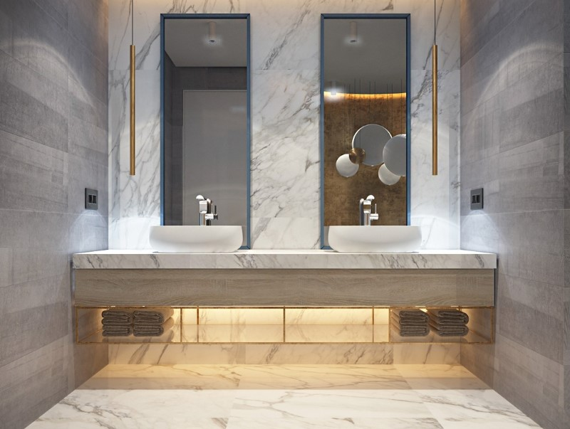 Grey Bathroom Ideas with Sophisticated Designs 6