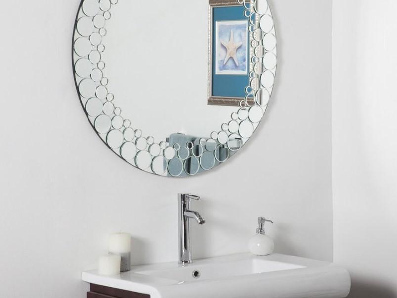 15 Bathroom Mirror Ideas 2020 (Level up Your Bathroom Value) 14