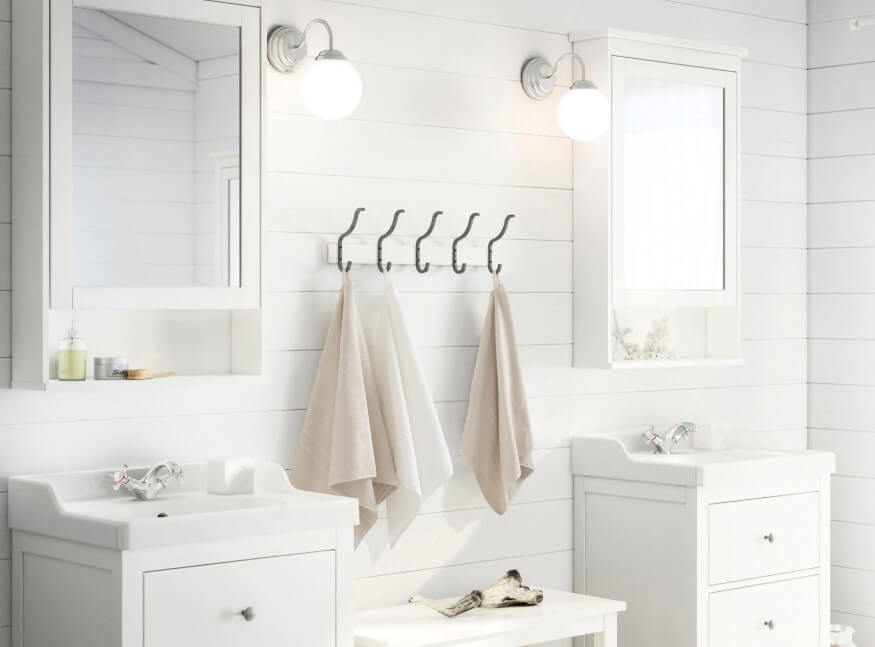 65 Bathroom Cabinet Ideas 2019 (That Overflow With Style) 2