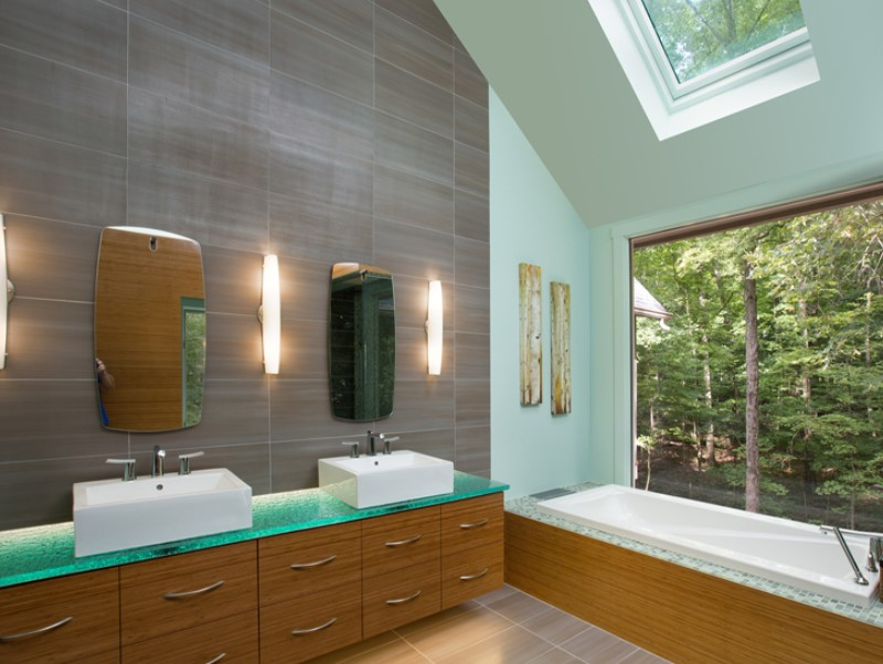 15 Bathroom Countertop Ideas 2020 (and Their Plus Points) 13