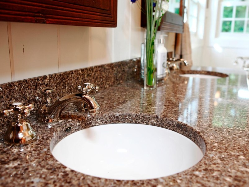 15 Bathroom Countertop Ideas 2020 (and Their Plus Points) 7