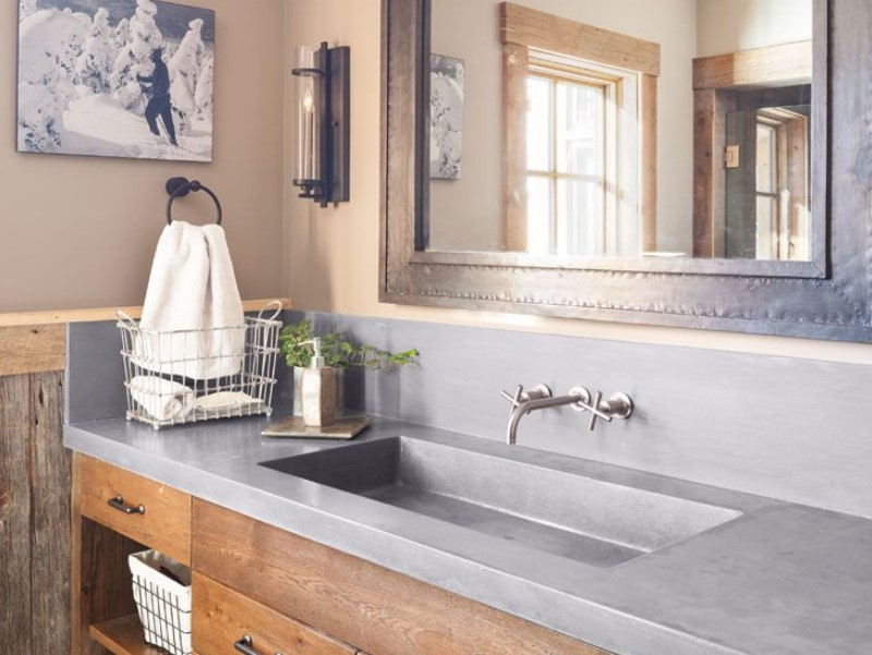 15 Bathroom Countertop Ideas 2020 (and Their Plus Points) 9