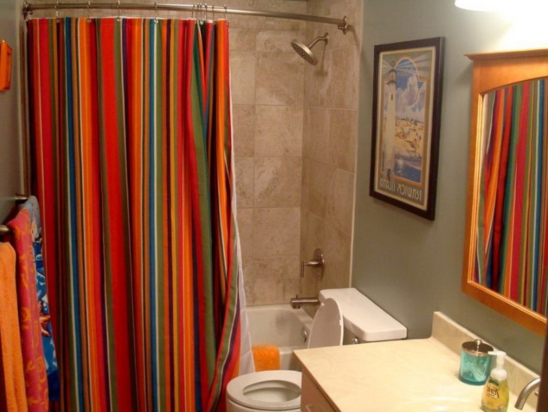 Bathroom Curtain Ideas to Live up Your Private Room 1