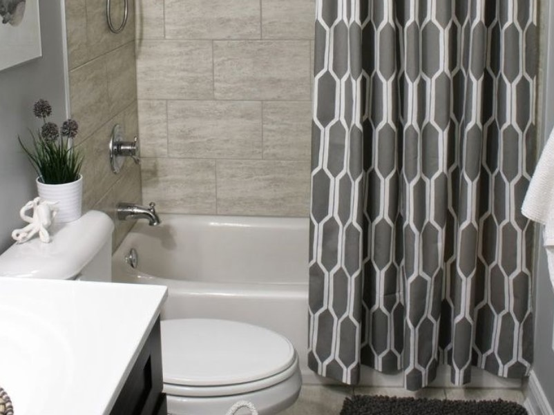 Bathroom Curtain Ideas to Live up Your Private Room 12