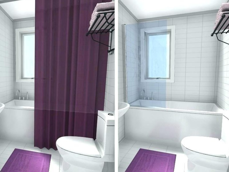 Bathroom Curtain Ideas to Live up Your Private Room 14