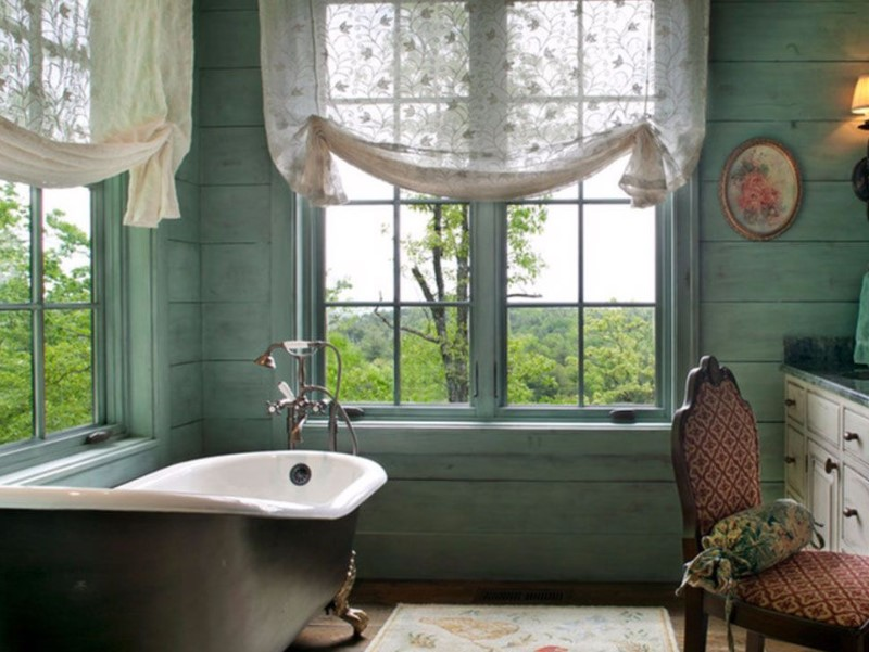 Bathroom Curtain Ideas to Live up Your Private Room 2