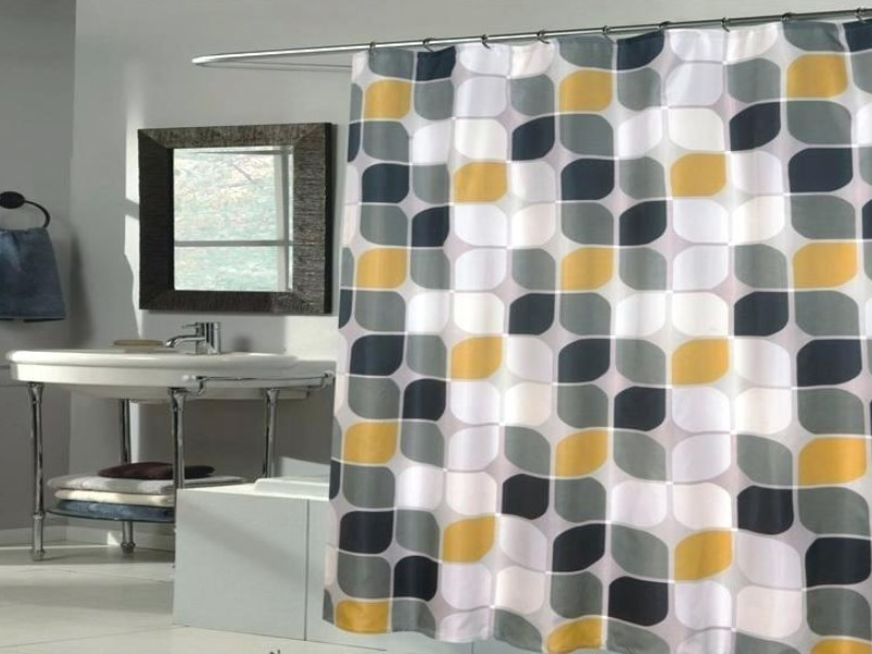 Bathroom Curtain Ideas to Live up Your Private Room 5