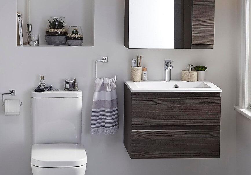 65 Basement Bathroom Ideas 2019 (That You Will Love) 6