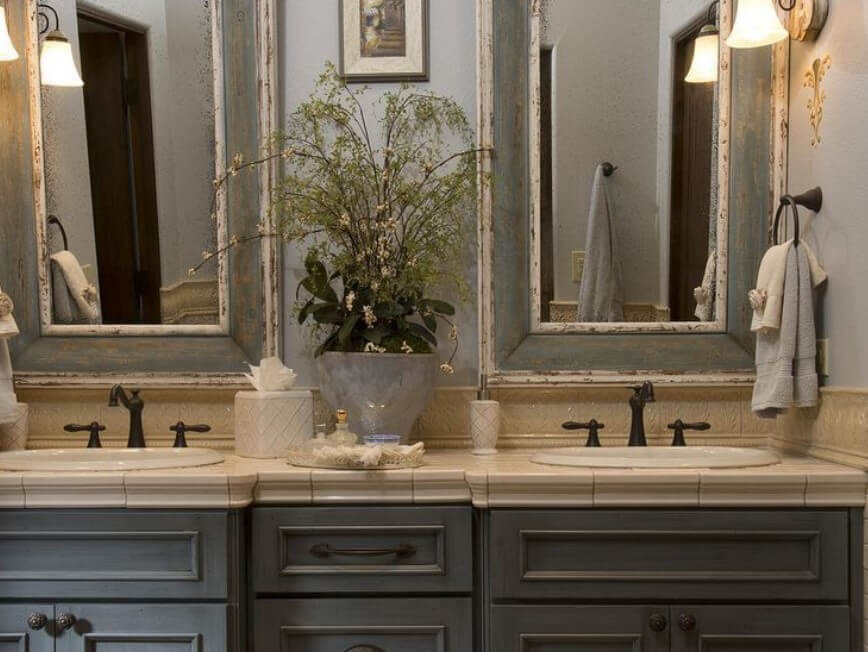 65 Bathroom Cabinet Ideas 2019 (That Overflow With Style) 14