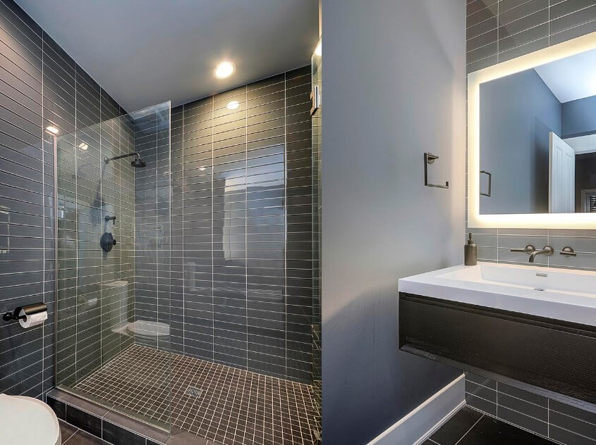 65 Basement Bathroom Ideas 2019 (That You Will Love) 3