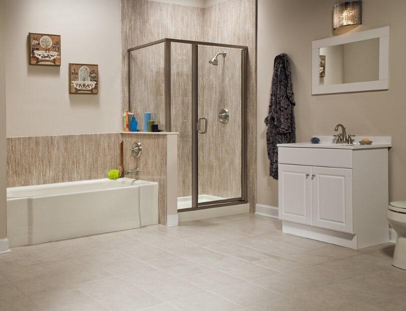 65 Basement Bathroom Ideas 2019 (That You Will Love) 12