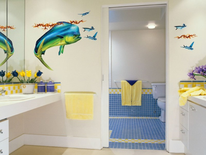 15 Kids Bathroom Ideas 2020 (Make Yours More Interesting) 3