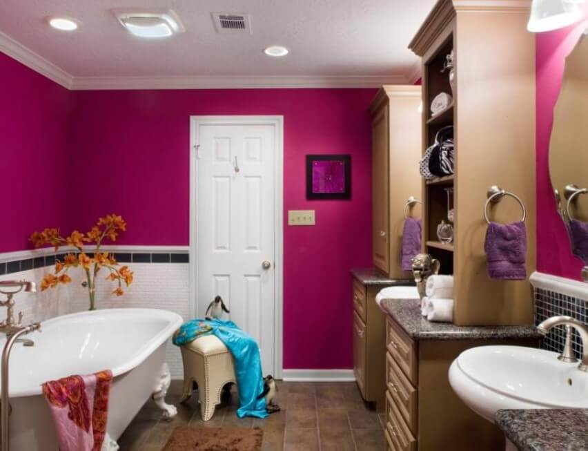 15 Bathroom Paint Color Ideas 2020 (Make Yours More Appealing) 10