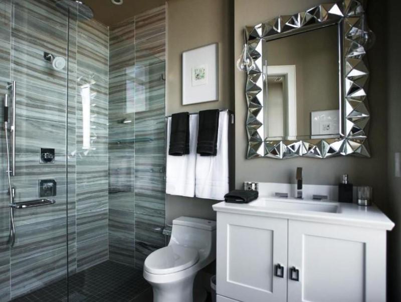 15 Bathroom Mirror Ideas 2020 (Level up Your Bathroom Value) 1