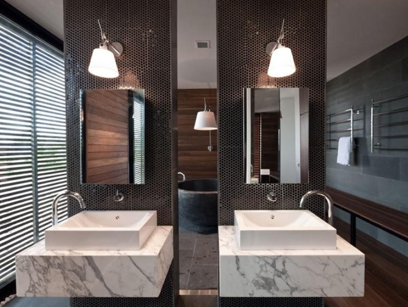 15 Bathroom Mirror Ideas 2020 (Level up Your Bathroom Value) 2