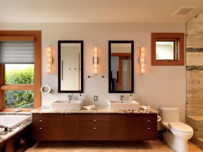 15 Bathroom Mirror Ideas 2020 (Level up Your Bathroom Value) 3