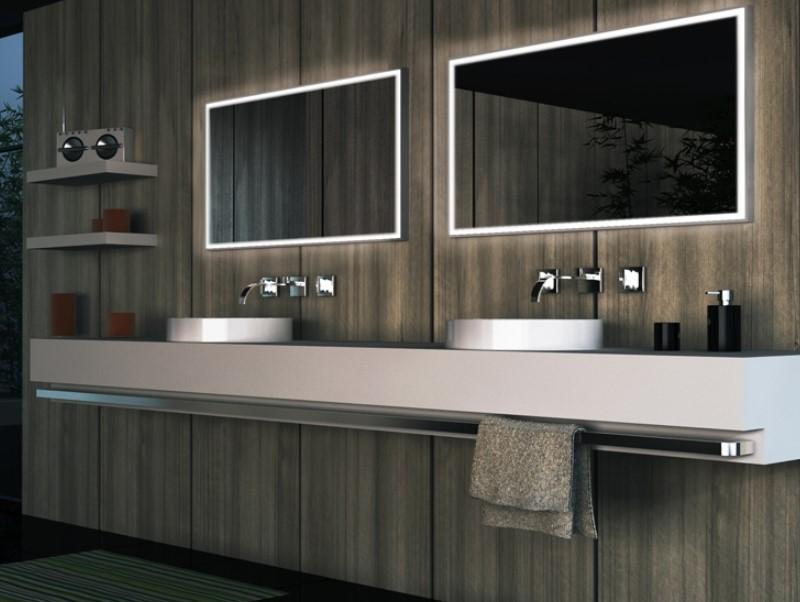 15 Bathroom Mirror Ideas 2020 (Level up Your Bathroom Value) 4