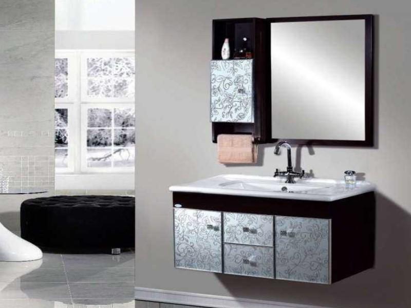 15 Bathroom Mirror Ideas 2020 (Level up Your Bathroom Value) 8