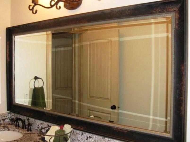 15 Bathroom Mirror Ideas 2020 (Level up Your Bathroom Value) 9