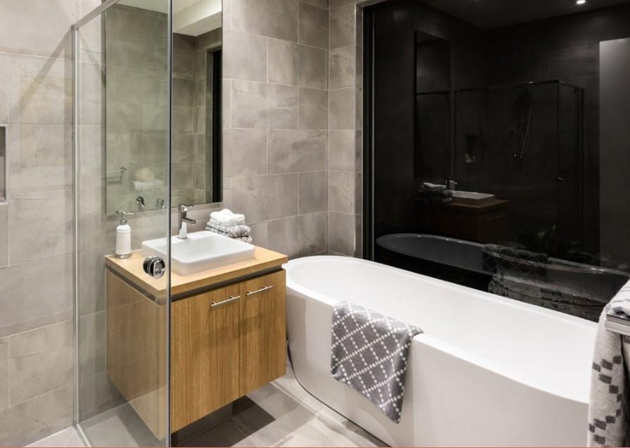 65 Basement Bathroom Ideas 2019 (That You Will Love) 15