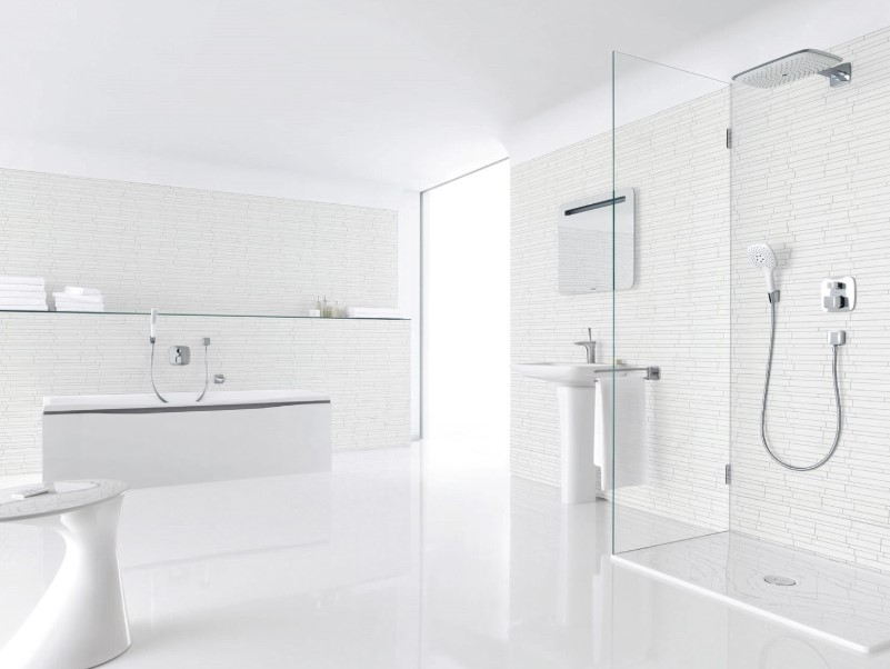 15 White Bathroom Ideas 2020 (Simple yet Elegant) 1