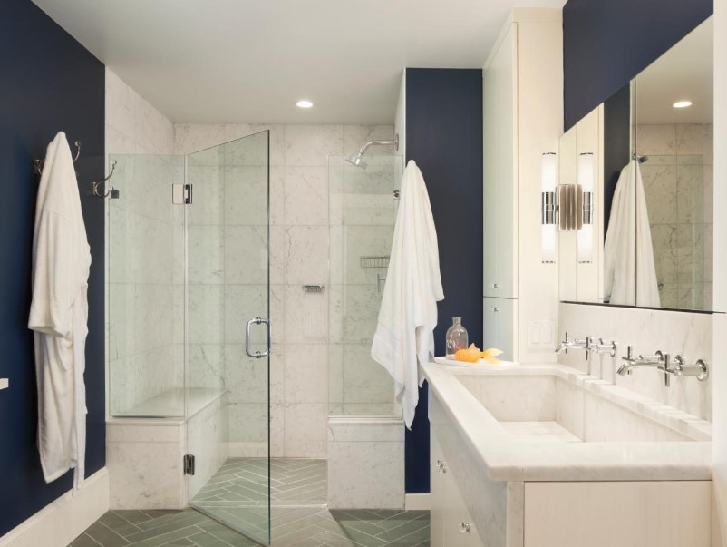 15 White Bathroom Ideas 2020 (Simple yet Elegant) 8